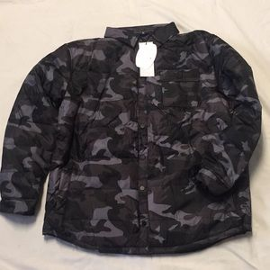 c5b4f7f3a3514 CLIMATE CONCEPTS Jackets   Coats - CLIMATE CONCEPTS Men s Puffer CAMO Jacket